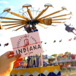 Indiana State Fair @no.18Paper