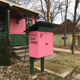 """Little Free Libraries"" 