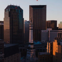 Indianapolis Monument Circle Downtown (@mrneal.grams)