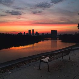 Sunset Skyline White River (@yaycara)