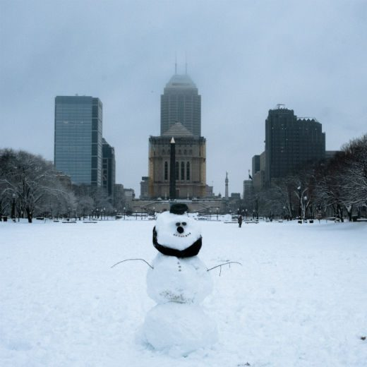 Keep Indy Indie – photos of Indianapolis – Winter Snowman