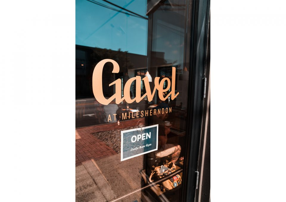 A look inside Gavel Coffee.