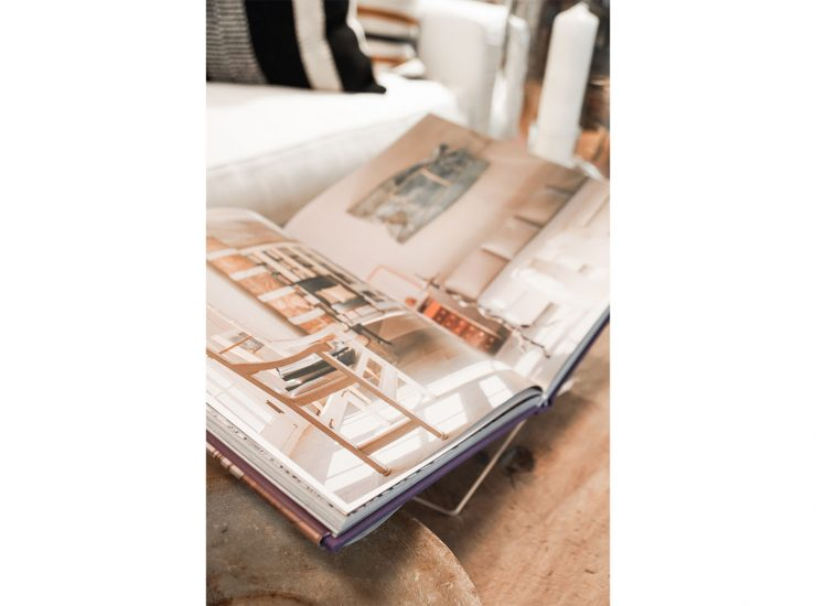 Add a coffee table book to your collection- a perfect addition.