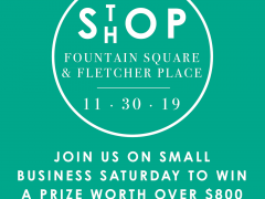 Fountain Square & Fletcher Place Partner for a Small Business Saturday 'Passport'